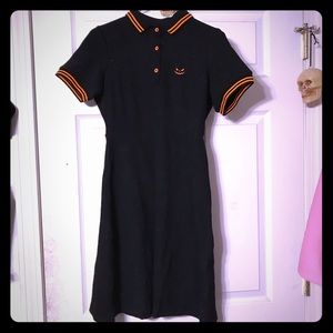 Gothic Sourpuss pumpkin dress